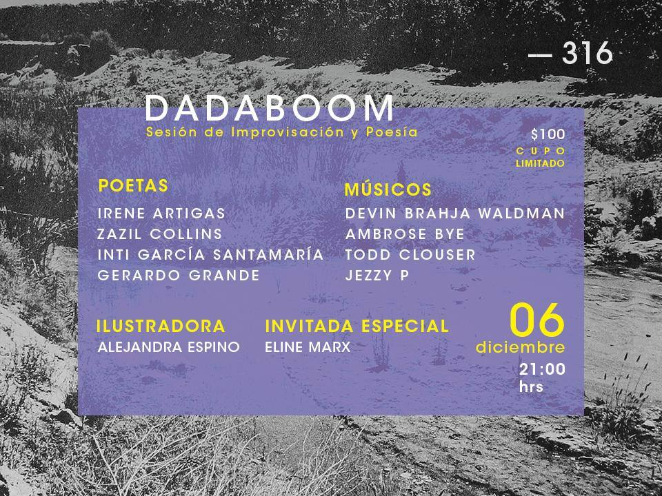 DadaBoom diciembre